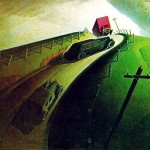 Death on Ridge Road - Grant Wood-1935