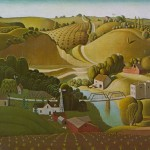 Stone City Iowa - 1930 - Grant Wood