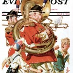 Saturday Evening Post - J.C. Leyendecker Fourth of July Parade 1933