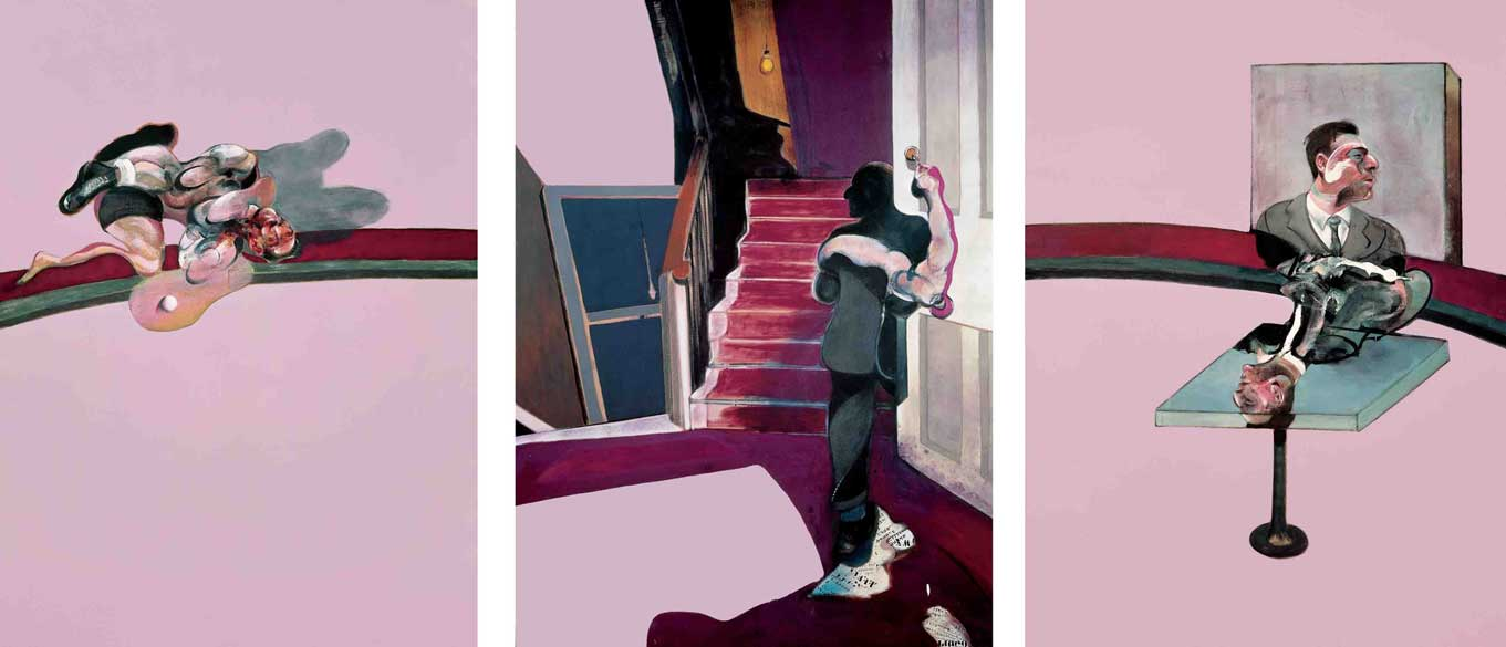 Francis Bacon - Triptych in memory of George dyer - 1971