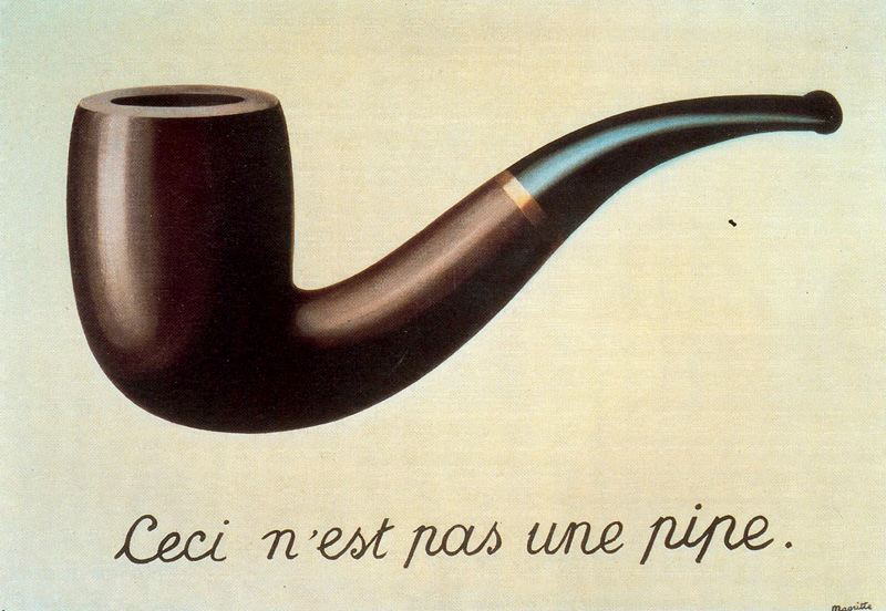Rene Magritte - The Treachery of Images - 1928-29