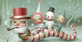 Santa_Worm-Mark Ryden