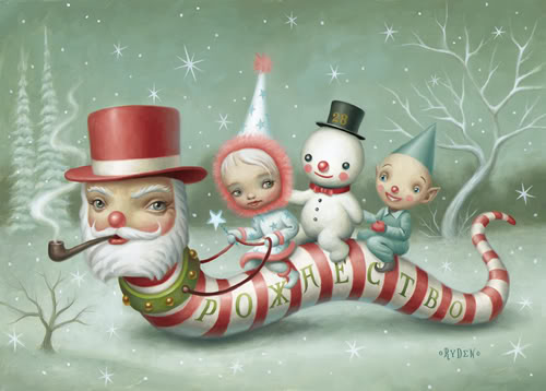 Santa_Worm-Mark Ryden