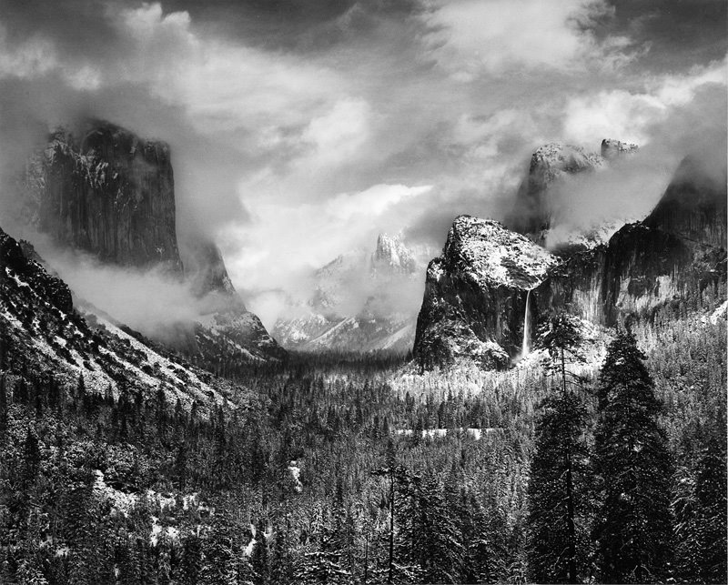 Ansel Adams Archives – Daily Art Fixx Ansel Adams Clearing Winter Storm Wiki