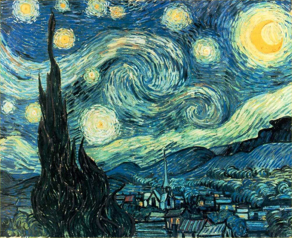 The-Starry-Night-Vincent-van-Gogh-1889