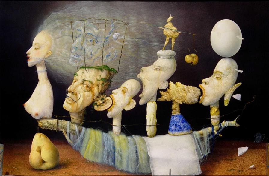 Zdenek Janda Painting Daily Art Fixx
