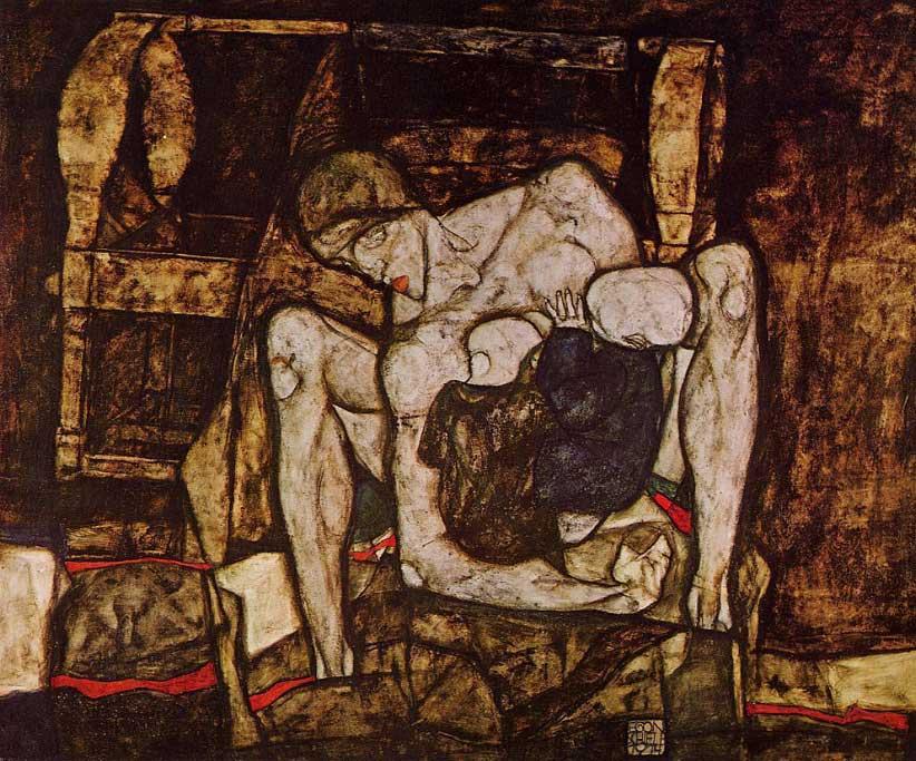 Blind-Mother-Egon-Schiele-1914
