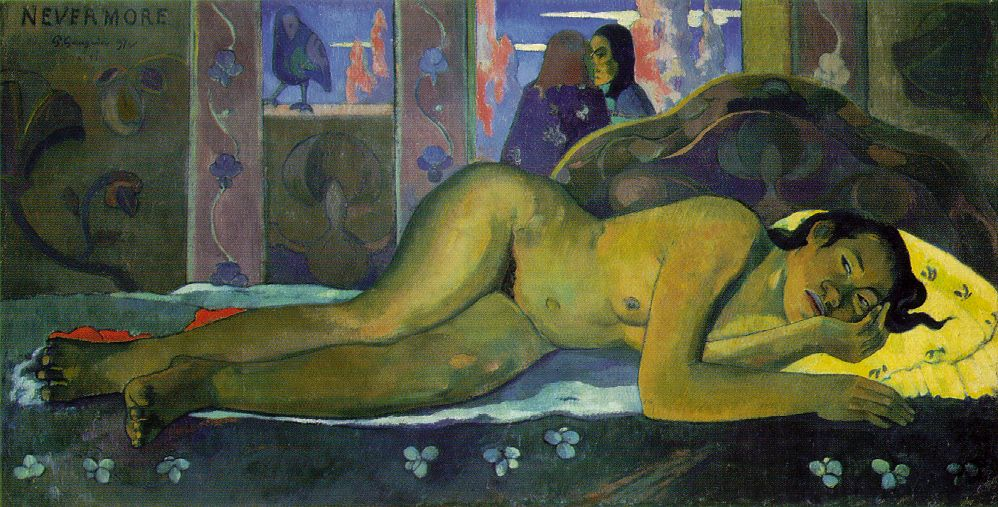 Nevermore Paul Gauguin 1897