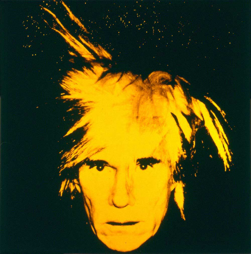Andy Warhol Self Portrait 1986