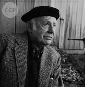 Portrait of Paul Strand by Louise Dahl-Wolfe