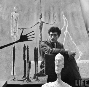 Alberto Giacometti - Life Magazine