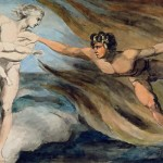 William Blake-Good and Evil Angels Struggling for the Possession of a Child 1790-94