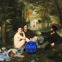 Jeff Koons - Gazing Ball - Manet Luncheon on the Grass - 2014-15jpg