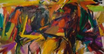 Elaine-de-Kooning_Bullfight_1959