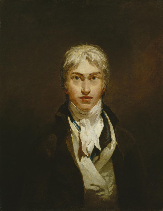 Self-Portrait c.1799 by Joseph Mallord William Turner 1775-1851