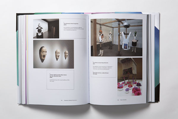The New Curator - book page