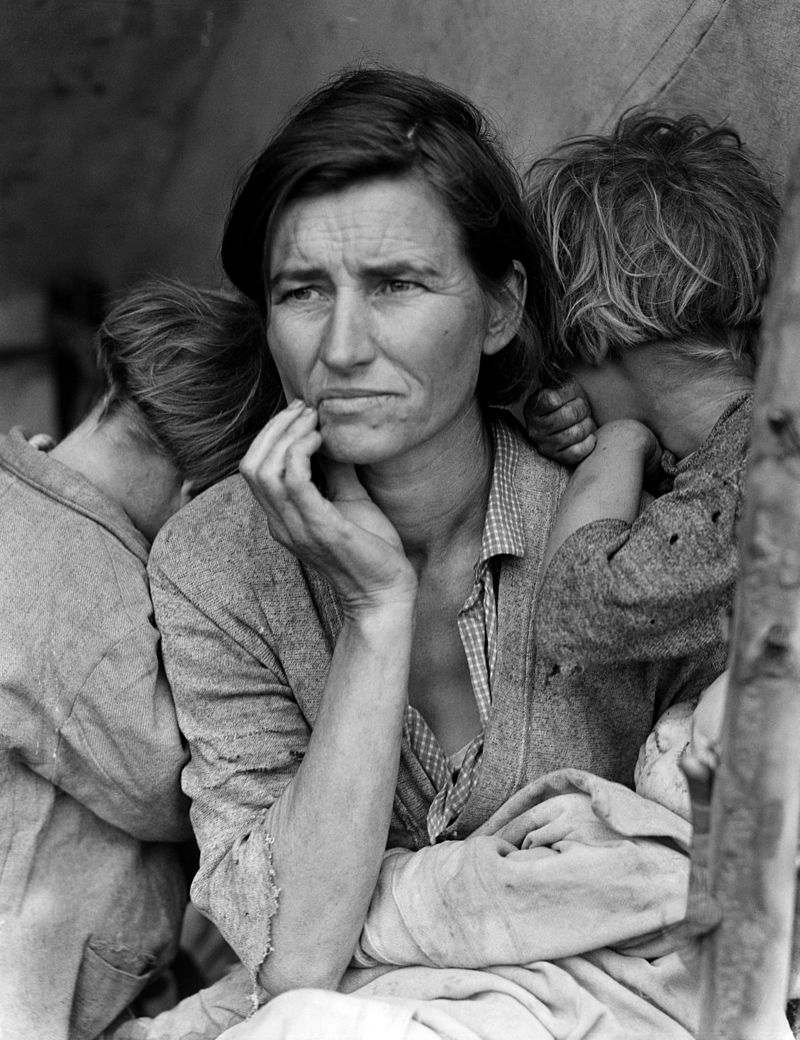 Dorothea Lange - Migrant Mother 1936
