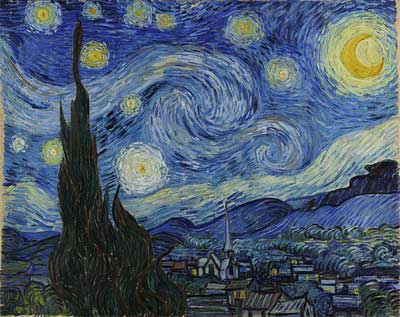 The-Starry-Night---Vincent-van-Gogh - art facts
