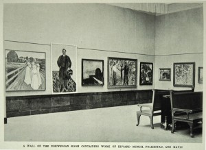 Scandinavian art at the Albright Knox Art Gallery 1913