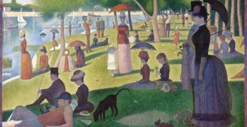 Georges Seurat - A Sunday on La Grande Jatte - 1884