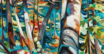 """Into the Woods"" - JulieVeenstra juliaveenstra.com"