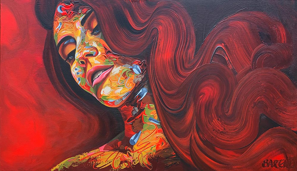 BAREND_LadyInRed_80x140